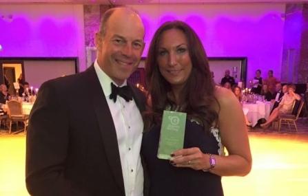 Kathryn-receiving-award